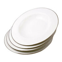 Royal Worcester Classic Gold Soup Plate 23cm (Set of 4)