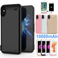 10000mAh External Power Bank Adapter Battery Charger Case For iPhone Xs 8 /7+ 6s