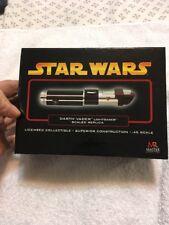 Master Replicas Star Wars .45 Scaled Lightsaber SW-316 Darth Vader ROTS GOLD