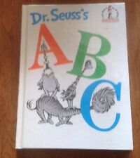Dr Seuss's A B C Beginner Books I Can Read All By Myself 1963 Book Club Edition