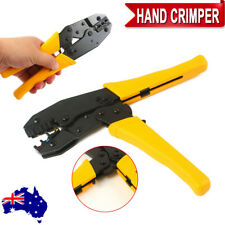 0.5-6mm² Hand Crimping Crimper Tool Pliers Ratchet 22-10AWG Insulated Terminals