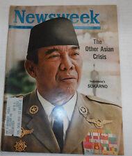 Newsweek Magazine Indonesia's Sukarno February 15, 1965 101016R2