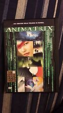 ANIMATRIX  - DVD ORIGINALE SNAPPER   RARO   -  Z8 37316