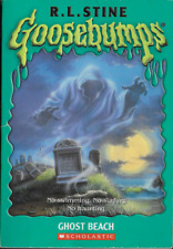 Goosebumps: Ghost Beach by R. L. Stine 1994, PB Un-numbered Embossed