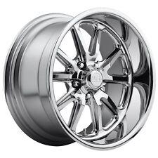 One 17x8 Us Mag Rambler U110 5x4.5 et1 Chrome Wheel