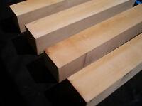 Set of 4 TASMANIAN CELERY TOP PINE Coffee Table Legs / Craft or Turning Blanks