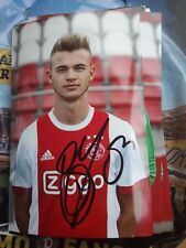 Signiertes Foto Daley Sinkgraven Ajax Amsterdam  NEU