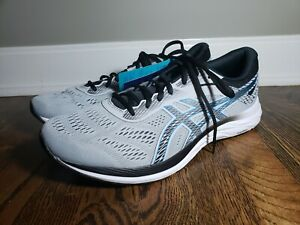 Asics Gel Excite 6 with AmpliFoam 1011A165 Gray/Electric Blue NWT