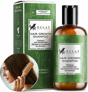 ADVANCED Hair Growth Shampoo for Women/Men & All Hair Types - 5X MORE POTENT