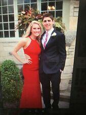 Sherri Hill Full length Red Dress