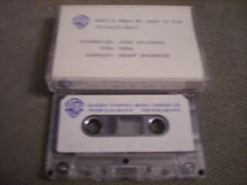 VERY RARE PROMO for Cher DEMO CASSETTE TAPE That's What My Love Is For AMY SKY +