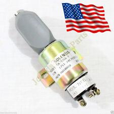 Shutoff Stop Solenoid 1700-2536 1751-24E7U1B1S5A SA-3766T Fits Cummins 3864274