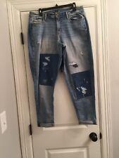 Lane Bryant Distressed Jeans 16 Girlfriend