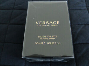 VERSACE Crystal Noir EDT 30 ml Womens Fragrance. Sealed Packaging. FREE POSTAGE
