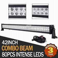 "42Inch 560W Philips Led Work Light Bar Spot Flood Beam Offroad Lamp Pickup 45"""