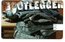 Bootlegger Store Gift Card No $ Value Collectible Pile of Blue Jeans