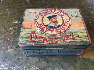 Player's Navy Cut Cigarettes tin