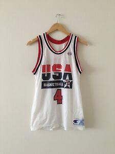 Vintage Champion USA Basketball Christian Laettner Jersey