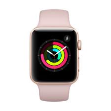 Apple Watch Series 3 GPS 42mm Aluminiumgehäuse Gold mit Sportarmband Sandrosa