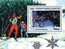 Timbre Sports d'hiver JO Mauritanie BF52 ** lot 21340