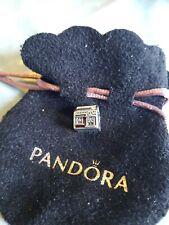 New Pandora Genuine SANTA`S CHRISTMAS HOME iIS ALWAYS WARM   S925 ALE
