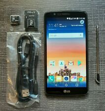 LG Stylo 3 16 2 GB Cricket Android Smartphone M430 16GBmicroSD &USB CleanIMEI