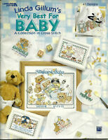Very Best for Baby Counted Cross Stitch Pattern Leaflet Linda Gillum 41 designs