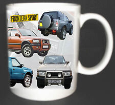 VAUXHALL FRONTERA SPORT CLASSIC CAR COLLECTORS MUG LIMITED EDITION.SPORTS 4x4