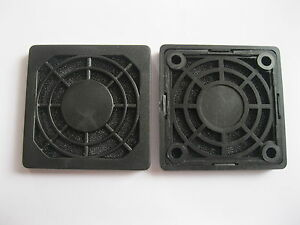 30 pcs Dustproof Dust Filter For DC Fan 50x50mm 50cm 5cm Black New