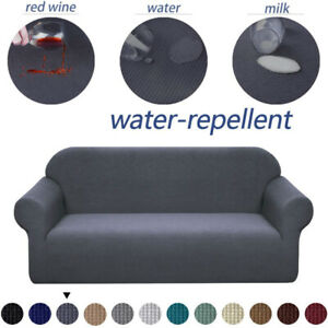 Stretch Sofa Slipcovers Spandex Jacquard Sofa Furniture Protector Couch Covers