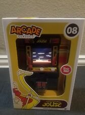 JOUST ARCADE CLASSICS Mini Midway Game #08 Basic Fun Color Screen RARE