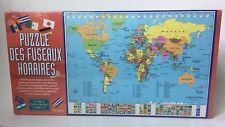 World Time Zones Flags Puzzle The Green Board Co 140 Pc Des Fuseaux Horraire
