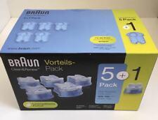 Braun 5+1 Reinigungskartuschen,  Reinigungskartusche für alle Braun Systeme !