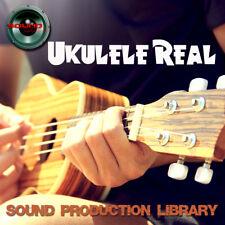 Ukulele Real - HUGE Original 24bit WAVE Multi-Layer LoopsGroove Library on DVD