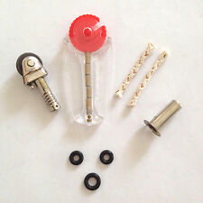 Scripto VU Lighter Repair Parts & Restoration Kit - Flint Wheel Assembly & More