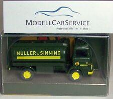 """Wiking Sondermodell: Mercedes-Benz LP 1317 Tankwagen """"Müller & Sinning"""" (012)"""