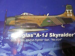 "RARE Hobby Master hobbymaster HA2904 Douglas A-1H Skyraider ""No. 014"" 56th SOW"