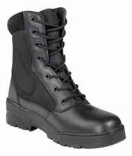 Paire de chaussures d'intervention t.42 rangers bottes pour agent de sécurité