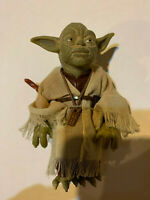 """STAR WARS POWER OF THE FORCE YODA 6"""" COLLECTOR FIGURE DOLL from 12"""" line"""