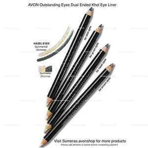 Avon Dual Ended Kohl Eyeliner ~ Gunmetal Shimmer~Free P&P~Great For Mothers Day