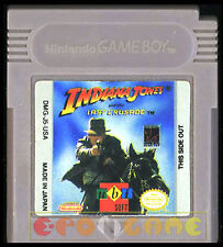 INDIANA JONES AND THE LAST CRUSADE Gameboy Game Boy Ver Americana •••• CARTUCCIA