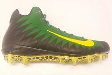 big sale 82a20 ed66d Nike Alpha Menace Pro Oregon Ducks Football Cleats, Green, Size 11 US