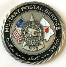Military Postal Service MPS Misawa Air Base, Japan Challenge Coin