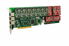 OpenVox A1200P0705 12 Port Analog PCI Base Card + 7 FXS + 5 FXO, Ethernet (RJ45)
