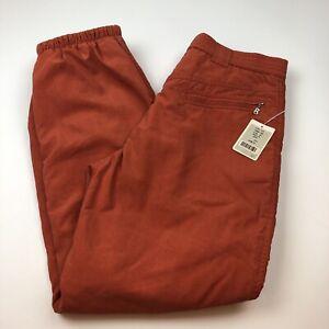 VTG Bogner Mens Ski Layerlite Pants Size 34 Regular Orange USA 1311 LEX