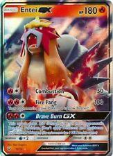 x1 Entei GX - 10/73 - Ultra Rare Pokemon Shining Legends M/NM
