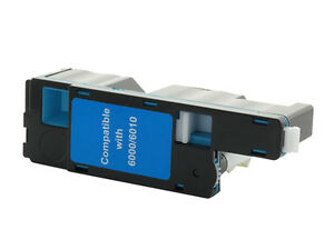 XEROX Workcentre 6015 - 1 x Cartouche de toner compatible Cyan