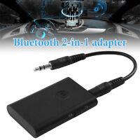 2 in1 Wireless Bluetooth Audio Ricevitore e Trasmettitore Adattatore Con 3.5mm
