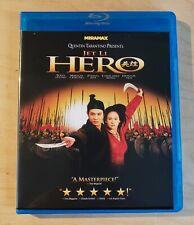Hero (2002) Blu Ray Jet Li Miramax