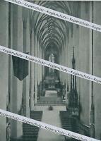München -  Frauenkirche - Hauptschiff - um 1920           Y 6-23